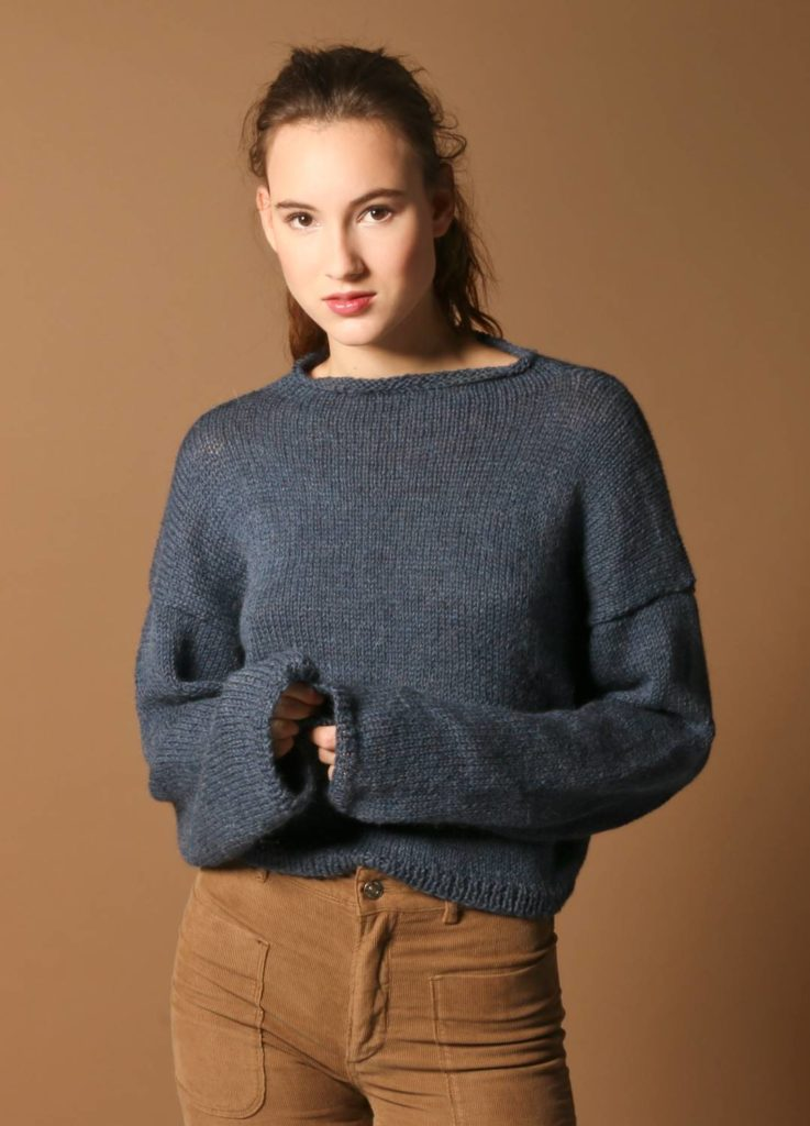 Haptic Sweater - lista prostych swetrów do zrobienia na drutach.
