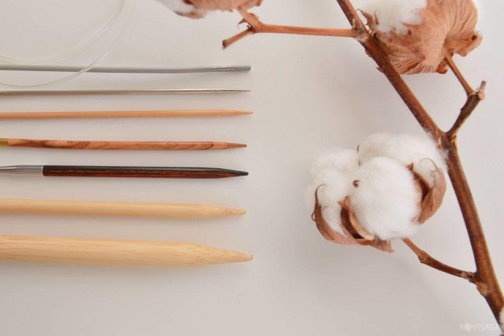 czubki różnych drutów