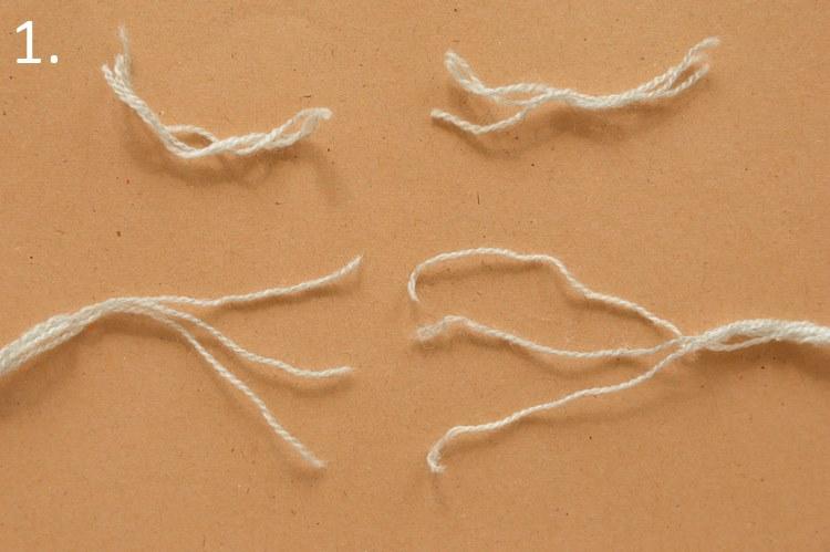 splatanie łączenie nici