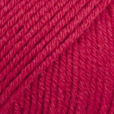 Drops Cotton Merino Wiśniowy Czerwony 06
