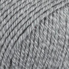Drops Cotton Merino Szary Siwy 18