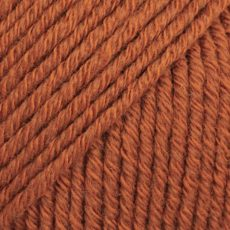 Drops Cotton Merino Rdza Miedziany 25