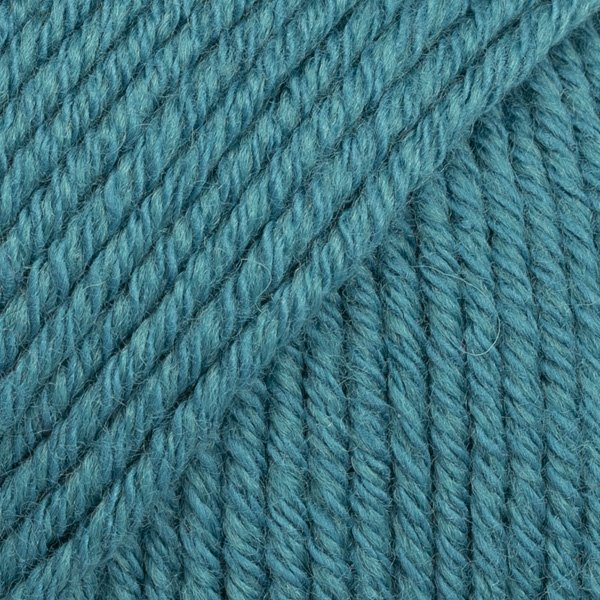 Drops Cotton Merino Zgaszony niebieski morski 26